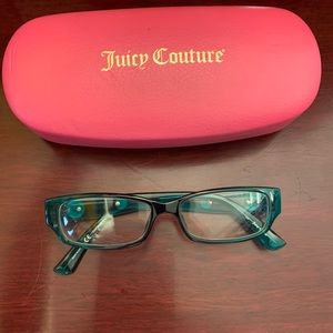 Juicy Couture kids eyeglasses with original case